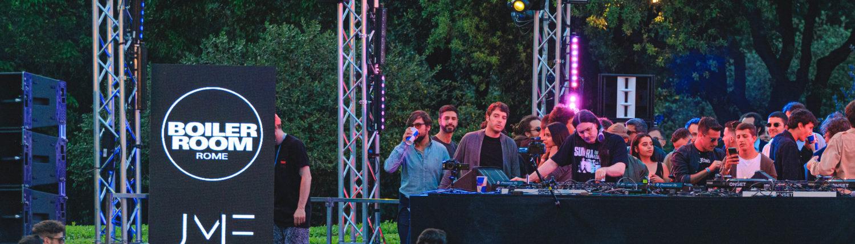 Boiler Room - Just Music Festival - Roma