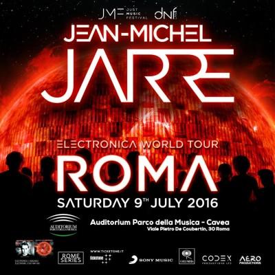 Jean-Micheal Jarre * 09 LUGLIO 2016 * Roma